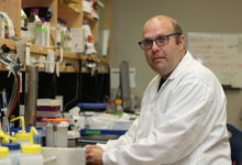 Anatomy and Cell Biology professor Patrick Lajoie