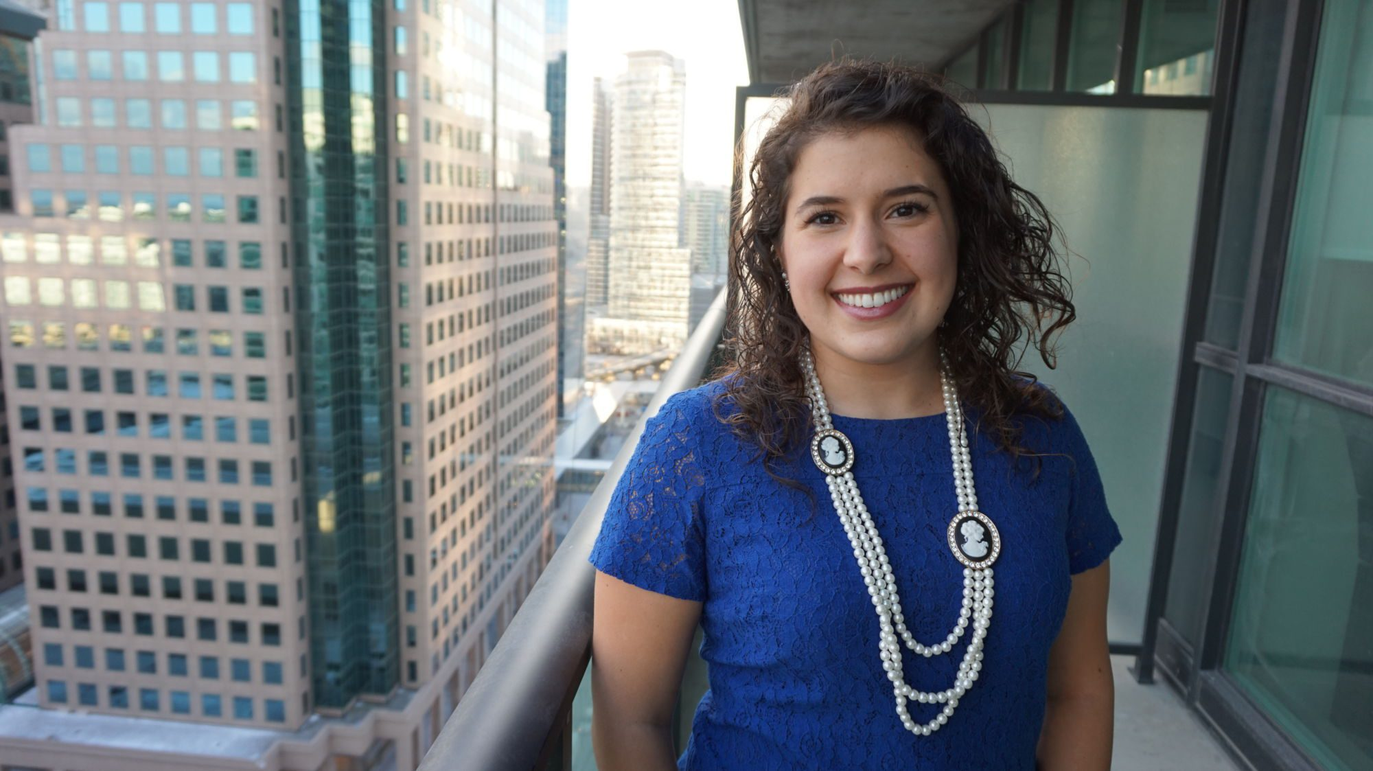 Masters of Health Information Sciences graduate Melissa Kargiannakis looks to make the Internet's boundless array of information understandable for all with the simple click of a button.