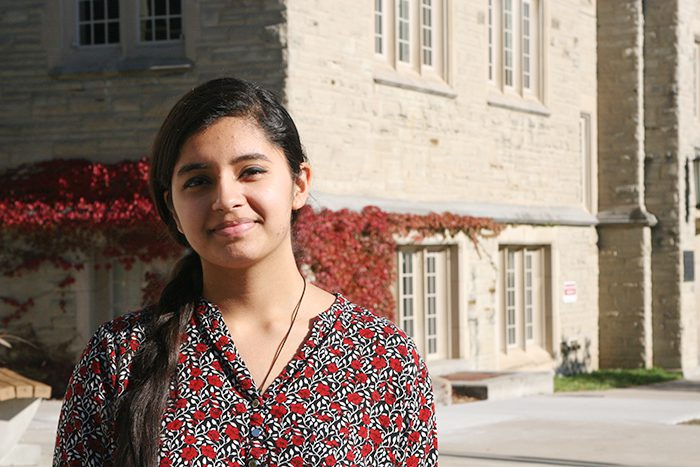 Integrated Sciences student Devanshi Shukla's innovation – which has the potential to help Canadians avoid serious health risks associated with food poisoning or environmental contamination from mold – received a Gold Medal at this year's Canada-Wide Science Fair. She also received a Young Canadian Manning Innovation Award.