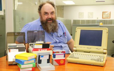 Librarian uncovers historic files using 'digital forensics'