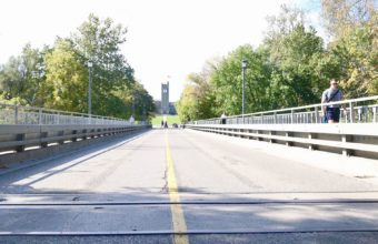 Western News Featured Image for University Drive Bridge reopens to traffic March 8