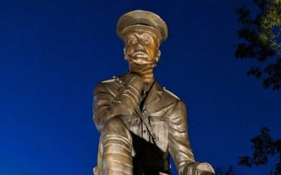 Statue echoes lessons of bravery, compassion